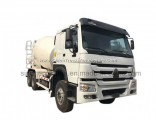 HOWO 10 Wheels Concrete Mixer Truck 10 Cubic Meter for Sale