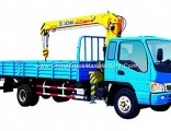 Foton Chasis 3.2 Ton Truck Mounted Crane, Telescopic Boom