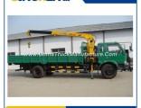 China Top Brand Crane Truck Manufacturer Sinotruk HOWO 8 Ton