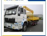 Sinotruk HOWO Straight Arm Lorry Mounted Crane 8 Ton