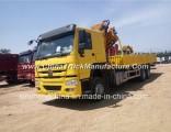 6 Ton Sinotruk HOWO 6X4 Truck Mounted Crane for Sale