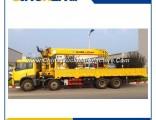 Sinotruk Self Loader Truck Mounted Crane HOWO