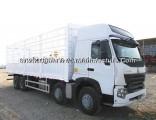 Sinotruk HOWO A7 8X4 336HP Van Cargo Truck