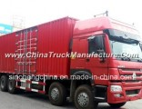 336HP HOWO 8X4 Van Cargo Truck Zz1317n3867 for Sale