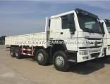 Sturdy Construction Sinotruk HOWO 12 Wheels Cargo Truck