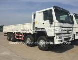Hot Sale 371HP HOWO 8X4 Cargo Truck Van Truck