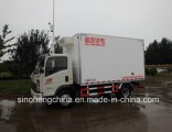Hot Sale Sinotruk HOWO 129HP 3t Light Van Box Truck