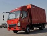 Sinotruk HOWO 4X2 115HP Van Cargo Truck for Sale