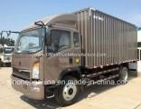 HOWO 4*2 Van Box Cargo Truck Lorry Truck 160HP