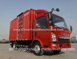 Sinotruk HOWO 5 Ton Mini Box Style Cargo Truck