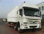 Hot Sale Sinotruk HOWO 8X4 Van Cargo Truck