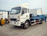 Sinotruk HOWO 4X2 116HP Swing Garbage Truck