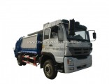 8m3 Municipal Sanitation Bidirectional Compression Refuse Compactor Garbage Truck