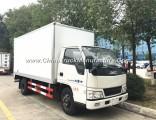 Jmc 4X2 Refrigerator Freezer Cargo Van 5tons Small Refrigerator Truck for Sale