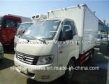 Foton Kangrui K1 3-4tons Freezer Van Truck/4X2 Small Refrigerator Truck for Selling