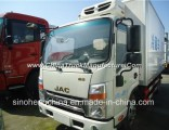 JAC 120HP 5tons Refrigerated Van Freezer Truck/4X2 Small Refrigerator Truck