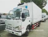 Hot Selling Isuzu 4X2 Freezer Van Truck 3tons Small Refrigerator Truck