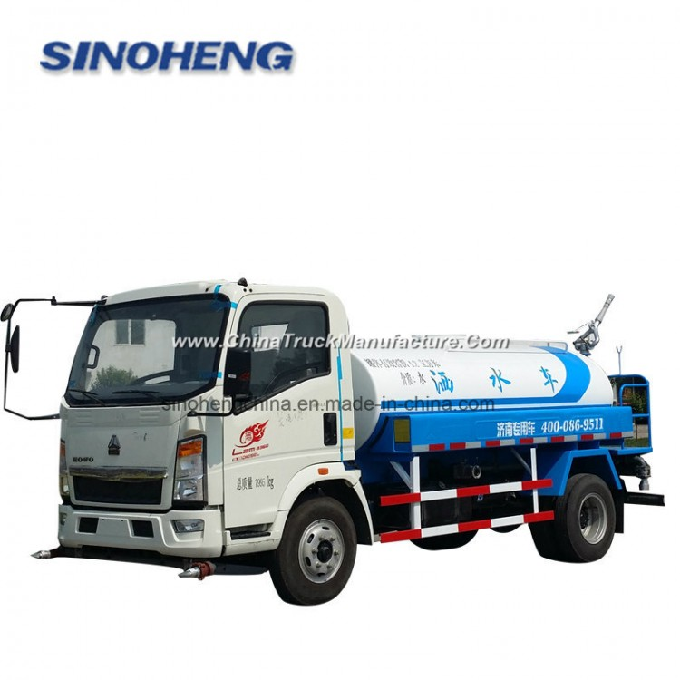 Sinotruk HOWO 5000-6000L Water Bowser Truck