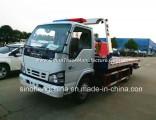 Hot Sale Isuzu 130HP Flatbed Tow Truck /4X2 Wrecker Truck
