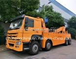 380HP 8X4 HOWO Heavy Duty Wrecker Towing Truck for Sale