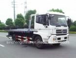 Dongfeng Tianjin 140HP Flatbed Wrecker Truck 4X2 Towing Truck