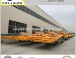 3 Axles 60 Ton 40FT Flatbed Semi-Trailer for Container Transport