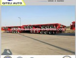 20FT 40FT Container Transport Truck Semi Flatbed Trailer