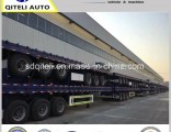 3 Axle 45FT/40FT Container Loading Flatbed Trailer Flatbed Semi Trailer for Sale