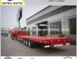Tank/Excavator/Forklift/Bulldozer/Crusher Transport Lowbed Semi Trailer