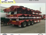 3axles Transport Gooseneck Lowboy/Low Bed/Lowbed Utility Semi Trailer