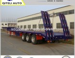 Heavy Duty Truck Transportation 40-60 Ton Lowbed Semi Trailer Trucks/Lowboy Trailer
