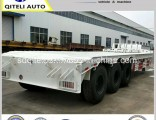 3 Axle 60-100ton Gooseneck Low Loader/Lowbed/ Lowboy Low Bed Trailer Truck Semi Trailers for Excavat