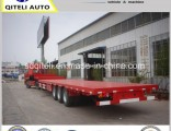 3 Axles Lowboy Lowbed 70 Ton Low Bed Semi Trailer
