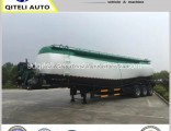 Carbon Steel Tanker Cement Bulk Carrier Trailer Powder Material Tank Semi Trailer