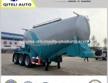 3axles 40t 60t Engine Compressor Powder Bulk Cement Tank Semi Trailer