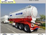 Tri-Axle 60t Diesel Engine Compressor Bulk Cement Tanker Semi Trailer