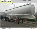 3 Axle 30/35/40/45cbm Bulk Cement/Fly Ash/Flour/Powder Material Transport Tank/Tanker Heavy Duty Tru