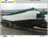 3 Axle 40m3-70m3 Tanker Bulk Cement Powder Tank Semi Trailer with V-Shape