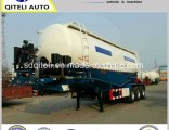 50cbm Bulk Cement Powder Transport Tanker 3 Axle Semi Trailer