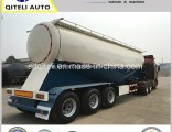 3 Axle 35cbm Export Cement Bulk Carrier Tanker Semi Trailer