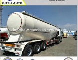 3 Axle Tanker Cement Bulk Carrier Trailer/Powder Material Tank Semi Trailer