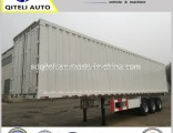 3 Axles Van Box Semi Trailer with New Factory Price