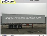 3 Fuwa/BPW Axles Van/Box Truck Semi Trailer for Cargo Transport