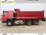 6X4 Left Hand Driving 371HP HOWO Tipper Dump Truck