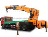 Truck Mounted Crane Knuckle Crane Telescopic Boom Truck Crane 160t 3200 Kn. M Sq3200zb6 (160T) at 2m