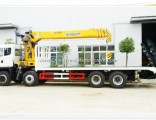 8X4 Flatbed Truck Mounted Sqs400 Crane for Sale