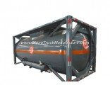 Hydrochloric Acid Tank (ISO 20Feet Container Frame) 22kl HCl Un1789 Max 35% Corrosive
