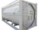 20FT Bulk Cement ISO Tank Container Customizing Transport Plaster Powder, Cement, Flyash Bulk Cement