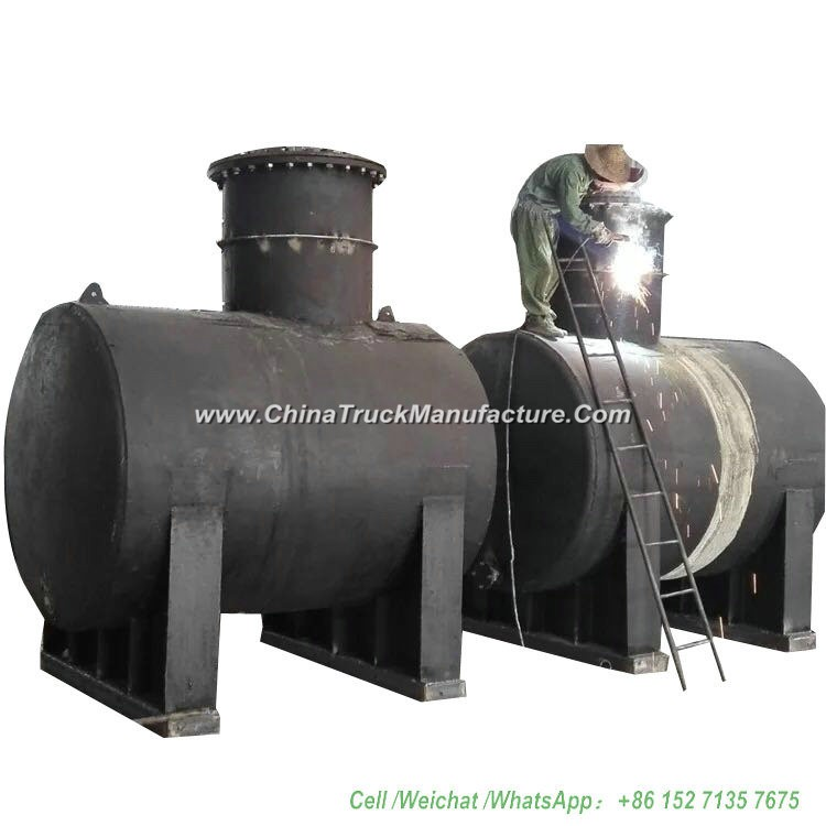 10 - 100ton Gasoline Underground Storage Tank Customize Vertical Horizontal (Carbon Steel or Stainle