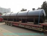 Acid Storage Tank for Oil Fied Chemical Contain Hydrochloric Acid 120cbm Horizontal